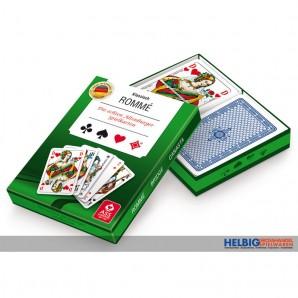 "Kartenspiel ""Rommé Canasta Bridge"" - 2 x 55 Blatt"