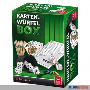 """Würfel- & Knobel-Spielset """"Karten & Würfel Box"""""""