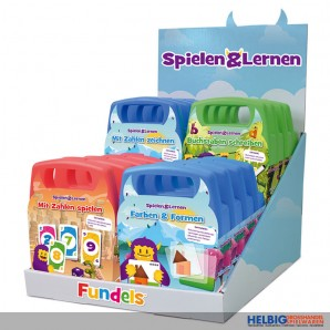 "Lernspiel ""Fundels - Spielen & Lernen"" - 4-sort."