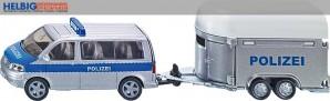 Siku 2310 - Polizei-PKW mit Pferdeanhänger