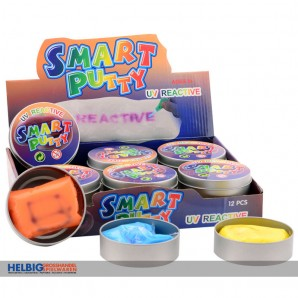 "Intelligente Knete ""Smart Putty"" UV-empfindlich - 5-sort."