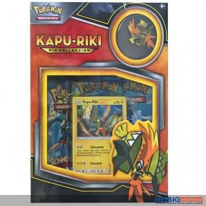 Pokemon - Pokémon Box: Kapu-Riki Pin Box (DE)