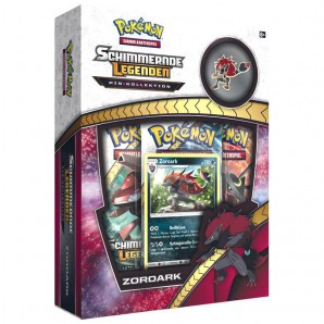 "Pokemon - Zoroark Pin Kollektion ""Schimmernde Legenden"" (DE)"