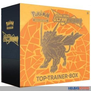 """Pokemon - S&M S.5 Ultra Prisma """"Top-Trainer-Box"""" 2-sort.(DE)"""