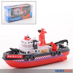 """Rettungsboot """"Rescueboat"""" mit Wasser-Spritzfunktion"""