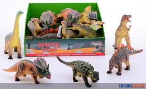 "Soft-Dinosaurier ""Animal World"" - sort."