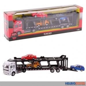 "Metall-Autos ""Auto-Transporter-Set 1:50"" 32 cm - 2-sort."
