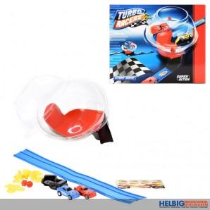 "Kugel-Rennbahn ""Turbo Racers Stunt Dome"" inkl. Zubehör"