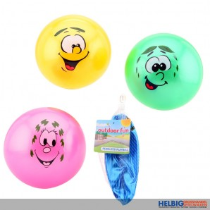 """Buntball """"Smiley/Funny Face"""" ohne Luft - 4-sort."""