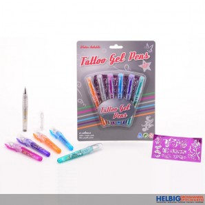 "Tattoo Gel-Stifte ""Tattoo Gel Pens"""