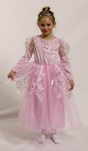 Kostüm Prinzessin - pink - Gr. 116-128