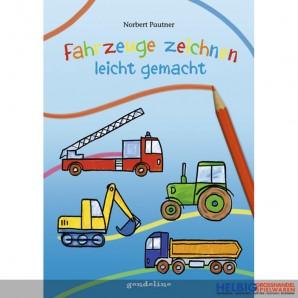 """Lern-/Malbuch """"Fahrzeuge zeichnen leicht gemacht"""""""