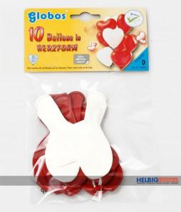 "10 Luftballons ""Herzballons"""