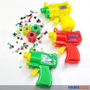 """Konfetti-Pistole gr. """"Confetti Gun"""" - inkl. 18 Schuss"""
