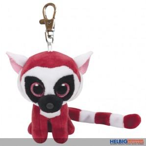 "Boo Clip/Anhänger - Lemur ""Leeann"" pink - 8,5 cm"