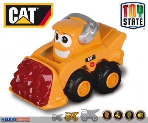 """Cat-Baufahrzeuge """"Glow Machines"""" m. Licht & Sound 2-sort."""
