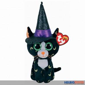 "Beanie Boo - Katze ""Pandora"" m. Hut ""Halloween 2020"" - 15 cm"