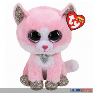 "Glubschi's/Beanie Boo's - Katze ""Fiona"" pink - 15 cm"