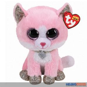 "Glubschi's/Beanie Boo's - Katze ""Fiona"" pink - 24 cm"