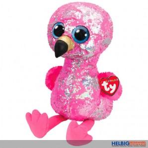 """Ty Flippables - Flamingo """"Pinky"""" XL - 42 cm"""