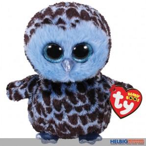"Glubschi's/Beanie Boo's - Eule ""Yago"" blau/schwarz - 15 cm"