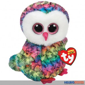 "Glubschi's/Beanie Boo's - Eule ""Owen"" multicolor - 24 cm"