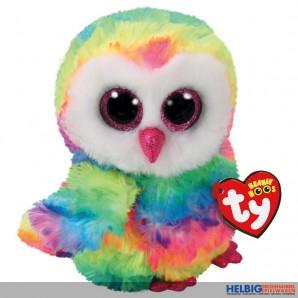 "Glubschi's/Beanie Boo's - Eule ""Owen"" multicolor - 15 cm"