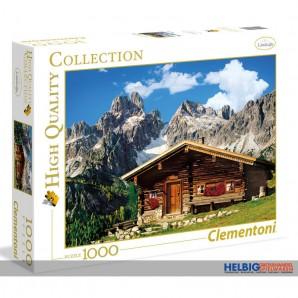 "Puzzle ""Landscape - Berghütte in Österreich - 1000 Teile"