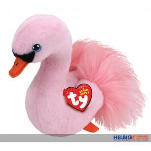 """Beanie Babies - Schwan """"Odette"""" pink - 15 cm"""