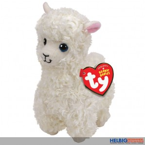 "Beanie Babies - Lama ""Lily"" weiss - 15 cm"
