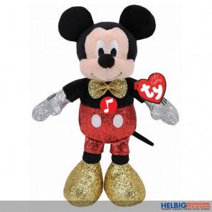 "Plüschfigur Disney ""Mickey Mouse"" m. Sound - 15 cm"