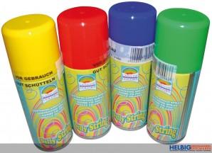 Luftschlangen-Spray - 4-sort.