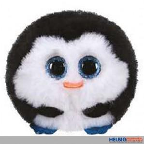 "Plüsch-Ball ""Ty Puffies - Pinguin Waddles"" - Ø 10 cm"
