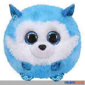 "Plüsch-Ball ""Ty Puffies - Hund Husky Prince"" - Ø 10 cm"