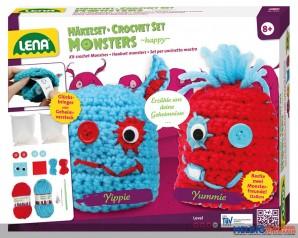"Häkelset ""Monsters: happy"""