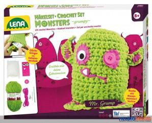 """Häkelset """"Monsters: grumpy"""""""