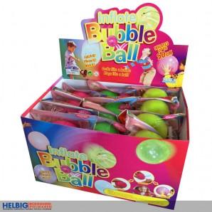 "Aufblasbarer ""Fun-Ball/Bubble Ball - Glitter"" - sort."