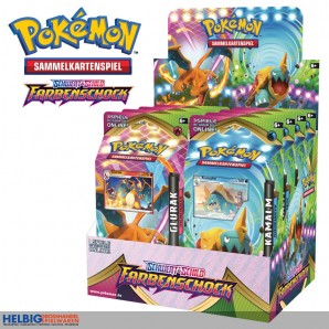 """Pokémon - Schwert & Schild S04 """"Farbenschock"""" Themendeck"""