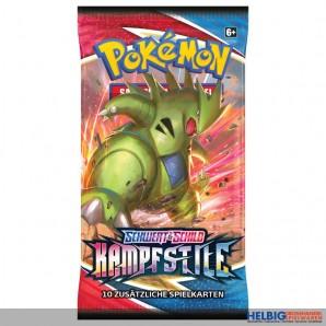 """Pokemon - Schwert & Schild S05 """"Kampfstile"""" Booster"""