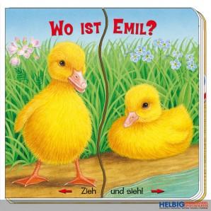"""Pappen-Bilderbuch """"Zieh & Sieh: Wo ist Emil?"""""""