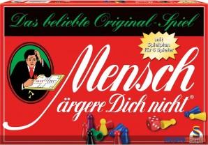 """Gesellschaftsspiel """"Mensch ärgere dich nicht"""" - kl. Version"""