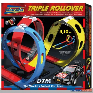 "Darda - DTM-Rennbahn-Set ""Triple Rollover"""