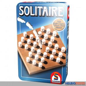 "Logik-Spiel ""Solitaire"" - in Metallbox"