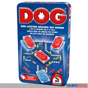 """Gesellschaftsspiel """"DOG"""" - in Metallbox"""