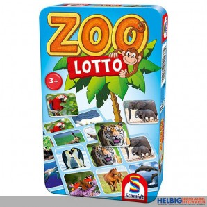 "Gesellschaftsspiel ""Zoo Lotto"" - in Metallbox"