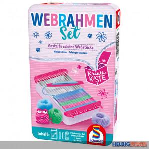 "Handarbeitsspiel ""Webrahmen Set"" - in Metallbox"