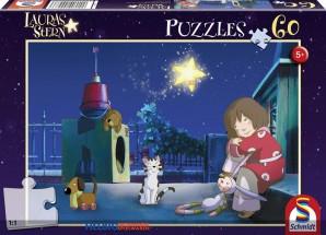 """Kinder-Puzzle - Lauras Stern """"Laura & ihre Freunde"""" 60 Teile"""