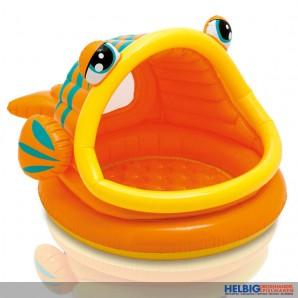 "Baby-Pool / Baby-Planschbecken ""Fisch"" - 124 cm"