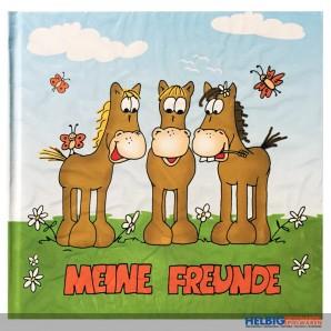 """Pferde-Freundebuch """"Meine Freunde"""""""