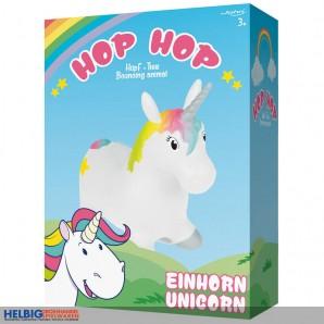 "Hüpf-Tier ""Hop Hop Einhorn / Unicorn"""